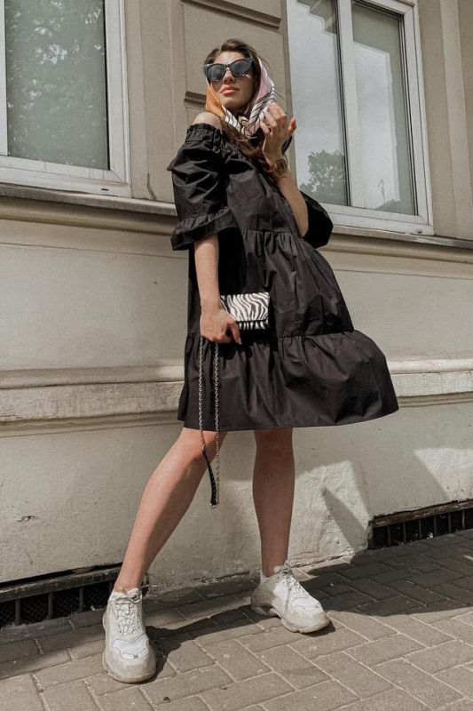 Sukienka Calla black