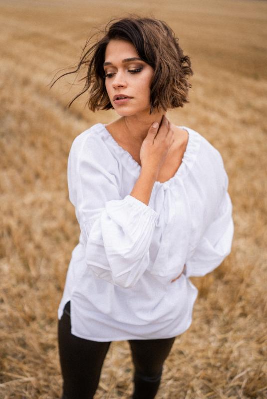 Bluzka Madelyn white