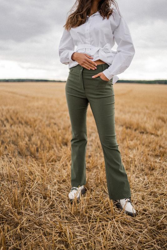 Spodnie Mia green
