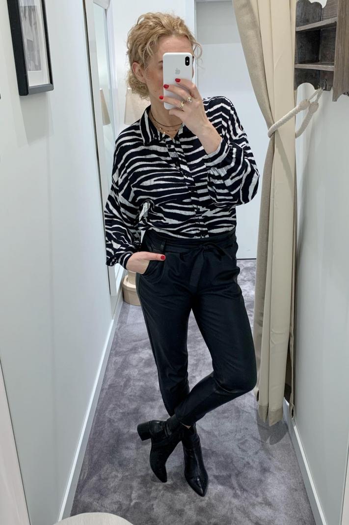 Bluzka zebra