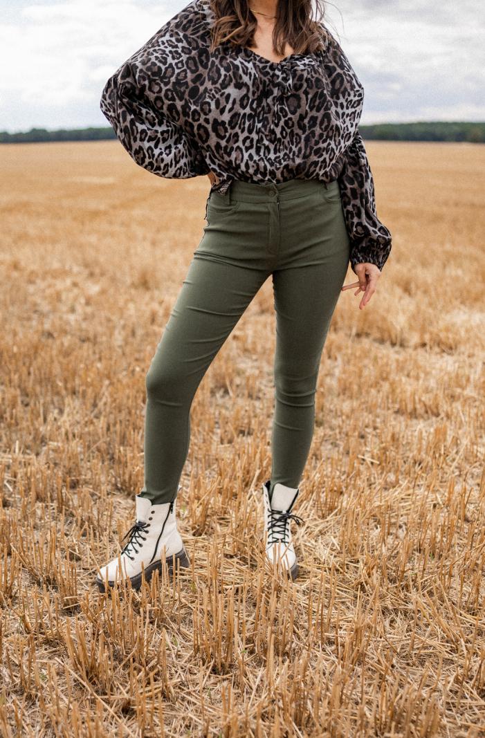 Spodnie Harper green