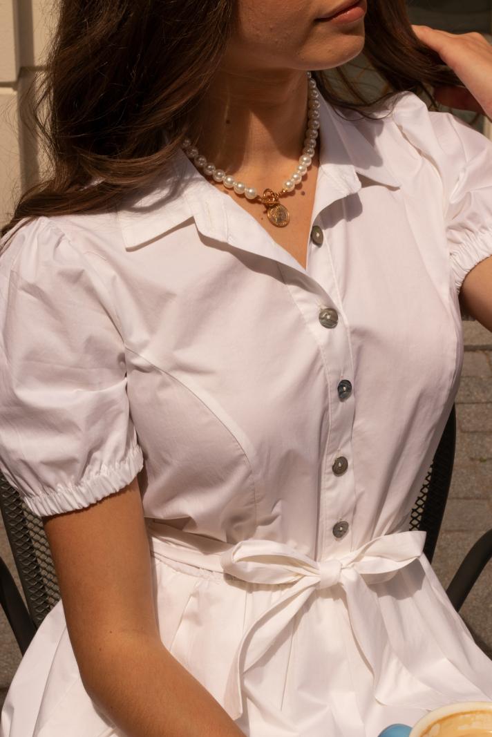 Sukienka Orchid white