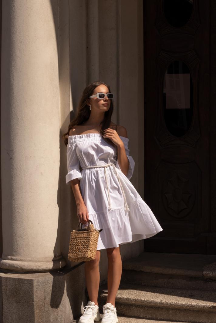 Sukienka Calla white