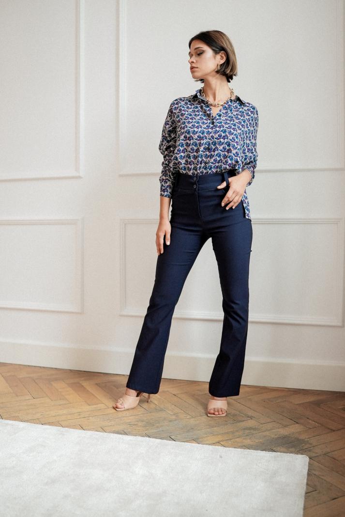 Spodnie Mia blue