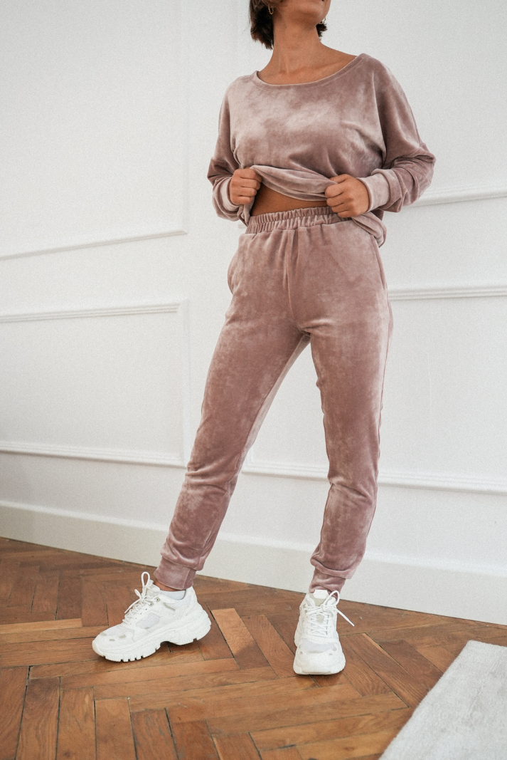 Spodnie Lily pink